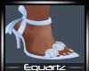 Blue Bow Heels