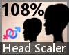 Head Scaler 108% F A