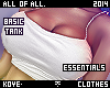 |< Essentials! Tank!