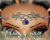~OA~ Headdress Amethyst