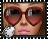 (*A) Heart Sunglasses CR