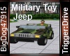 [BD] Military Toy Jeep