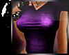 <3 Proper Purple V-Neck