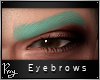 Sultry Brows-Mint Green