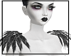 Gothic Feathers Shoulder