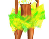 Yellow Green Tutu