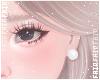 F. Pearl Earring White