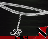 !T! Silver Belly Chain