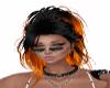 ! Black Orange hair.