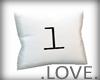 .LOVE. Letter l Pillo