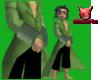 Pirate Coat Green [M]