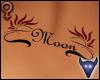 Moon back tattoo (f)
