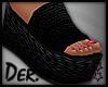 🌈 Platform Sandals F