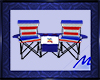 Patriotic Lawn Chairs