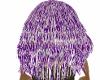purple& white hair