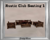 Rustic Club Seating 1
