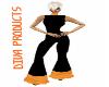PF Black with orange