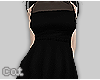 My Black Dress+stockings