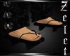 Oriental Sandles Black