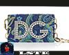 Lurex Blue DG bag