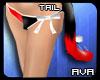 [AVA] RedBlack Neko Tail