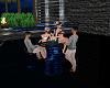 blue bar table