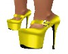 YELLOW X-HIGH HEELS