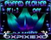 puff flower dj light