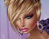 Romantic Purple Earrings