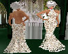 MR Beige Lace Gown