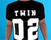 Twin 02 Shirt Black (M)
