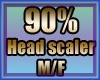 MAU/ HEAD SCALER 90% M/F