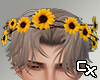 Sunflower Crown M