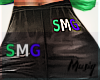M| SMG Leather Pants