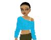 Blue Sweater Jane