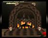 Halloween Fireplace