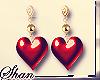 SsU* Hearted Earrings