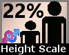 Height Scaler 22% F A