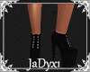 Platform Sneakers -Black
