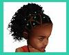 kids curly aqua beads