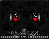 S! K&Q of Hearts Badges