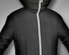 Derivable Zipped Hoodie