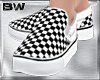 Chess Slip On Shoes