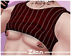 Rolled Tank Top RStriped
