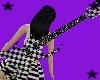 Animated Checker Guitar