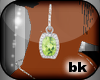 [bK]Earrings{green}