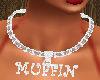 MUFFIN DIAMOND NECKLACE