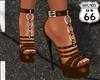 SD Medium Brown Heels