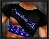 SENSATIONS strap shirt