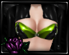 [C] Latex Shrug | Green